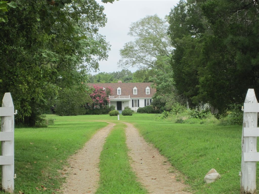 John Tyler birthplace