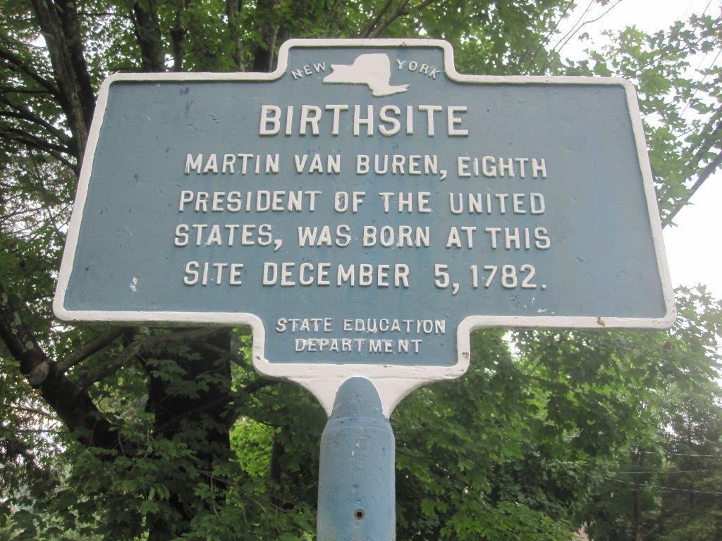 Martin Van Buren birthsite