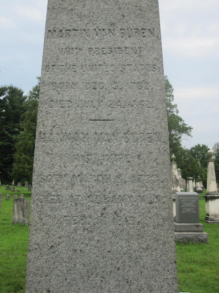 Martin Van Buren gravesite