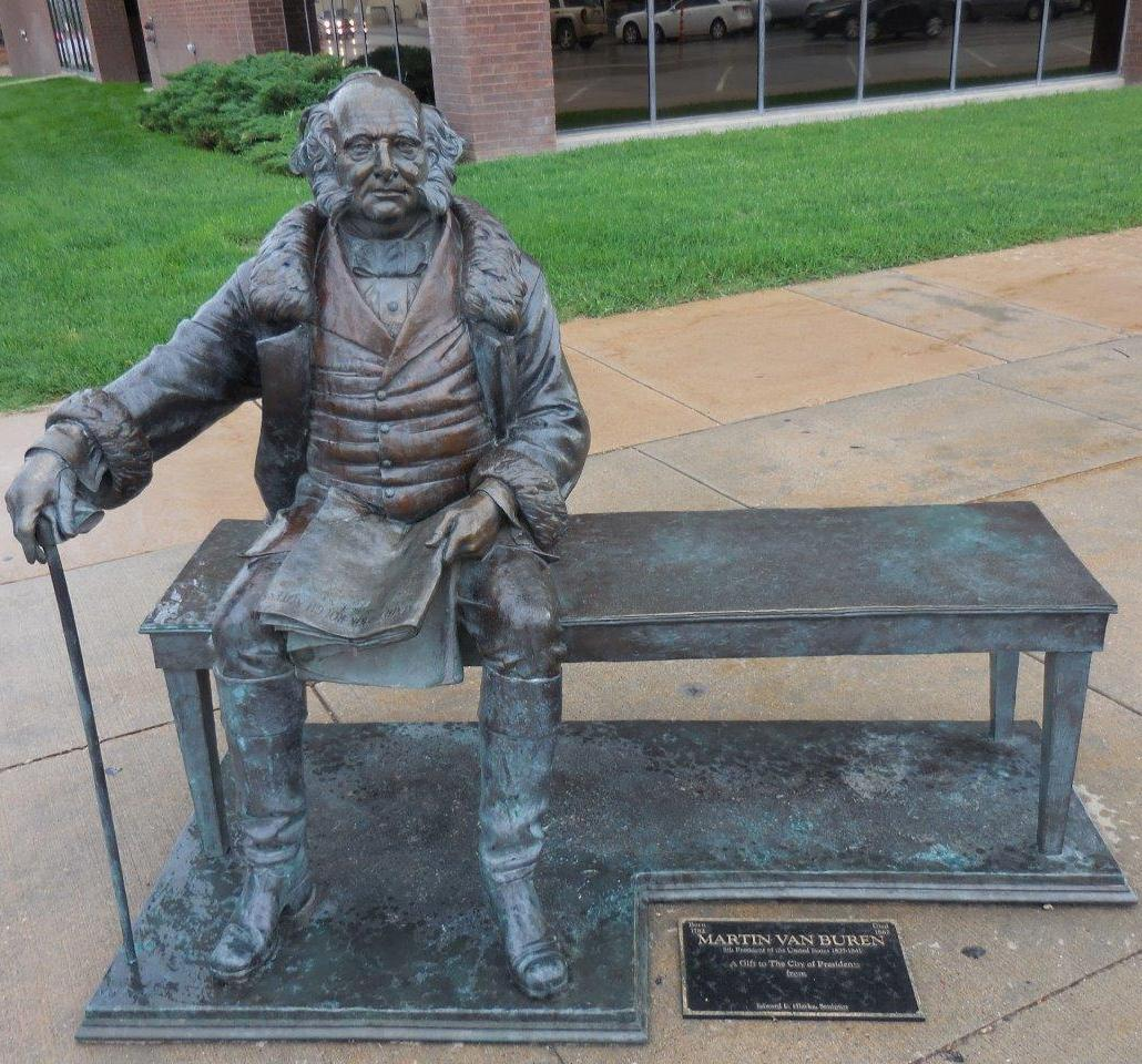 Martin Van Buren statue in Rapid City, South Dakota