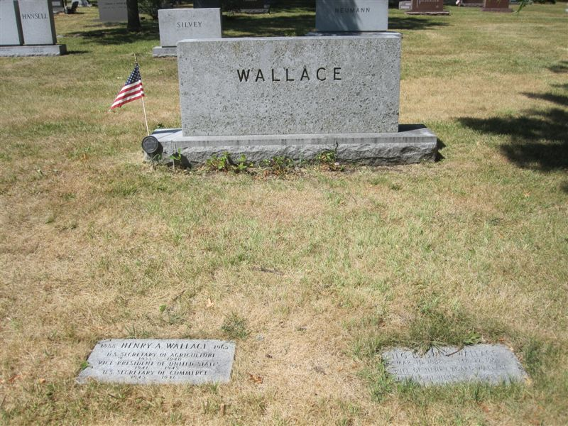 Vice President Henry Wallace grave