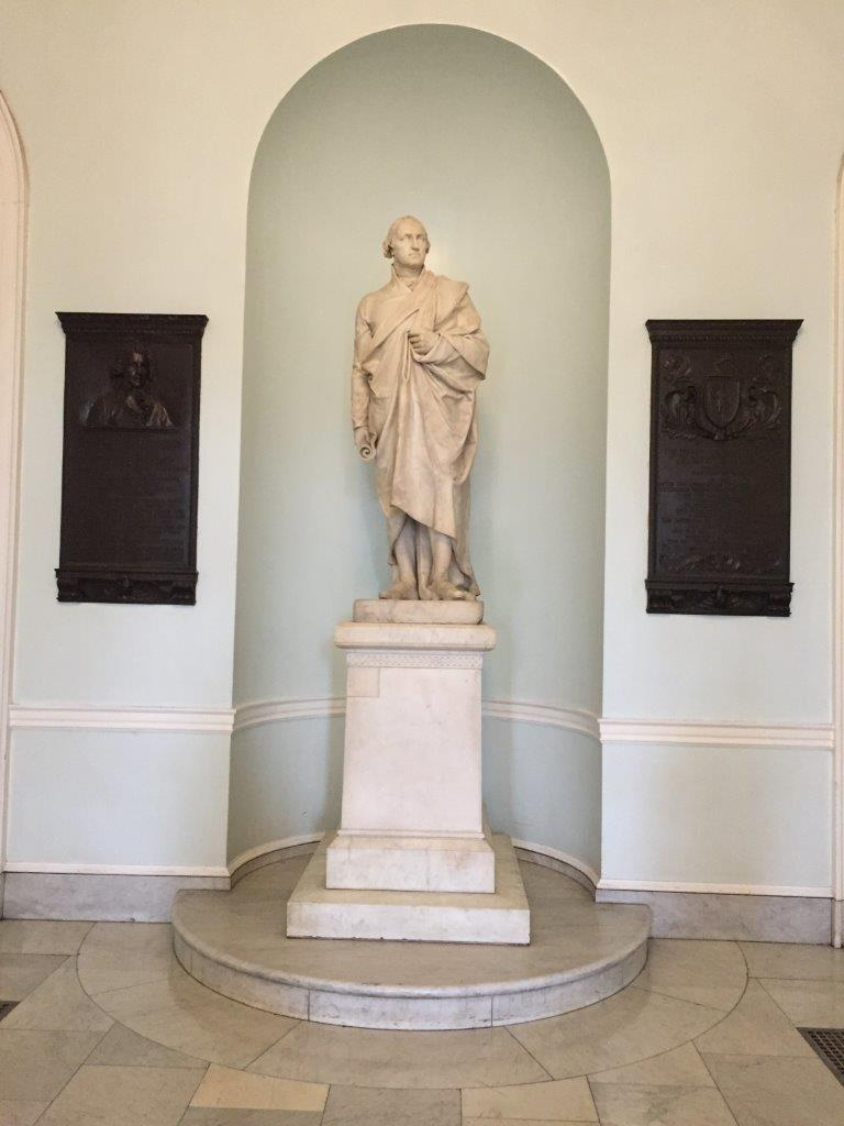 George Washington statue at Massachusetts State Capitol