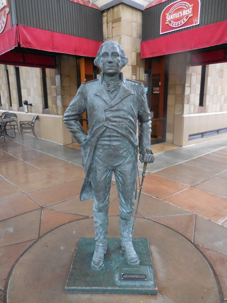 George Washington statue in Rapid City, South Dakota