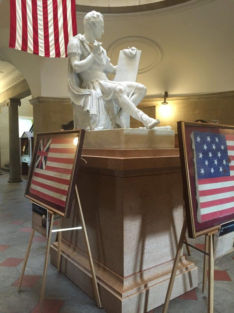 Terms Of Use >> George Washington Statue inside the North Carolina Capitol ...