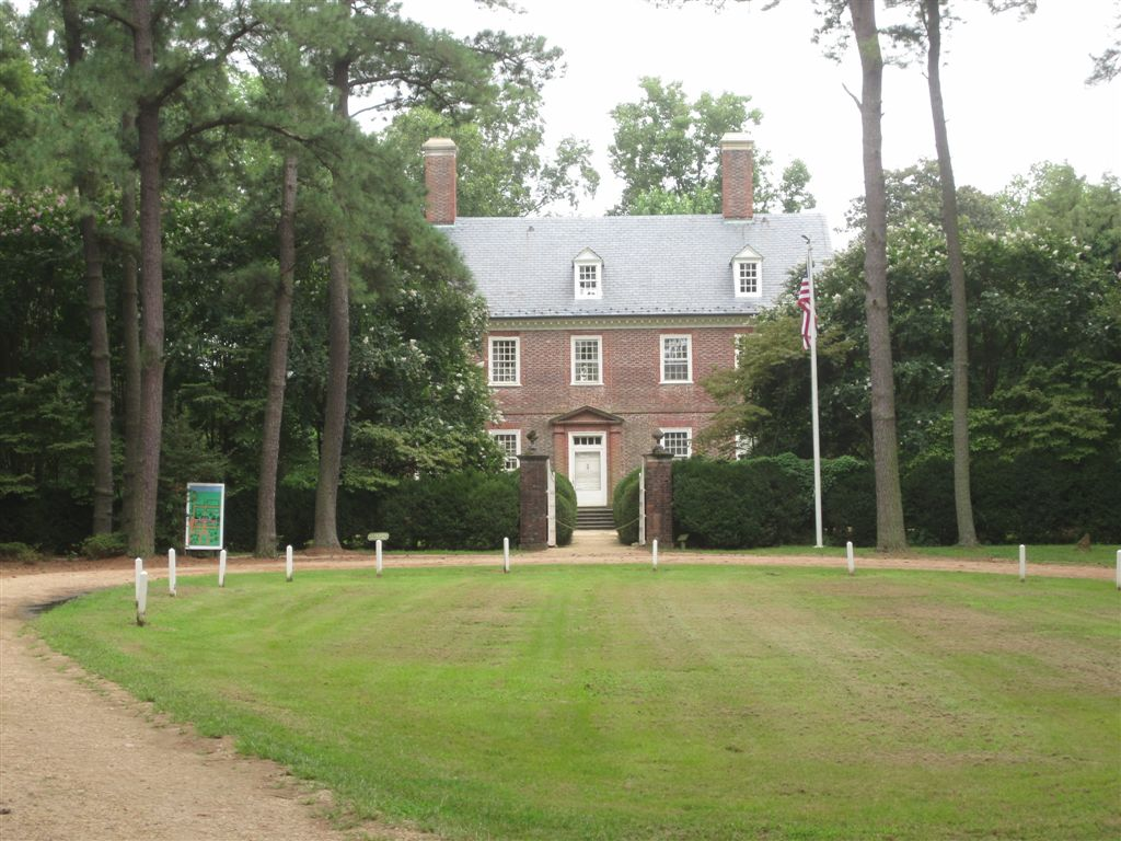 house in which William Henry Harrison was born