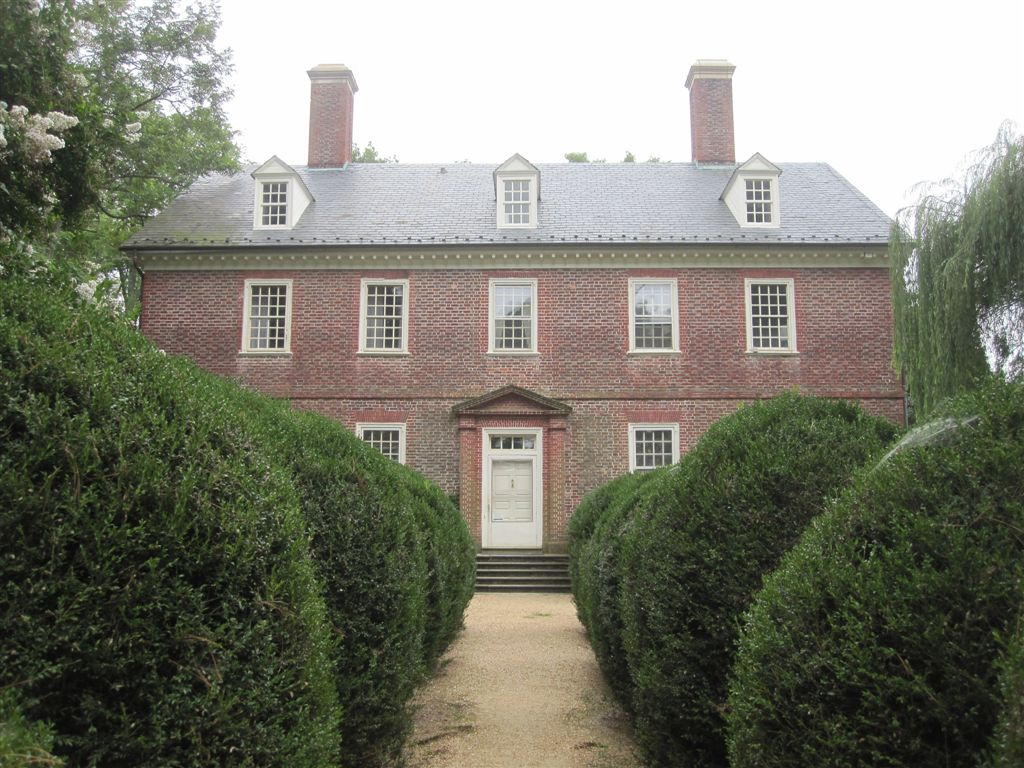 William Henry Harrison birthplace at Berkeley plantation