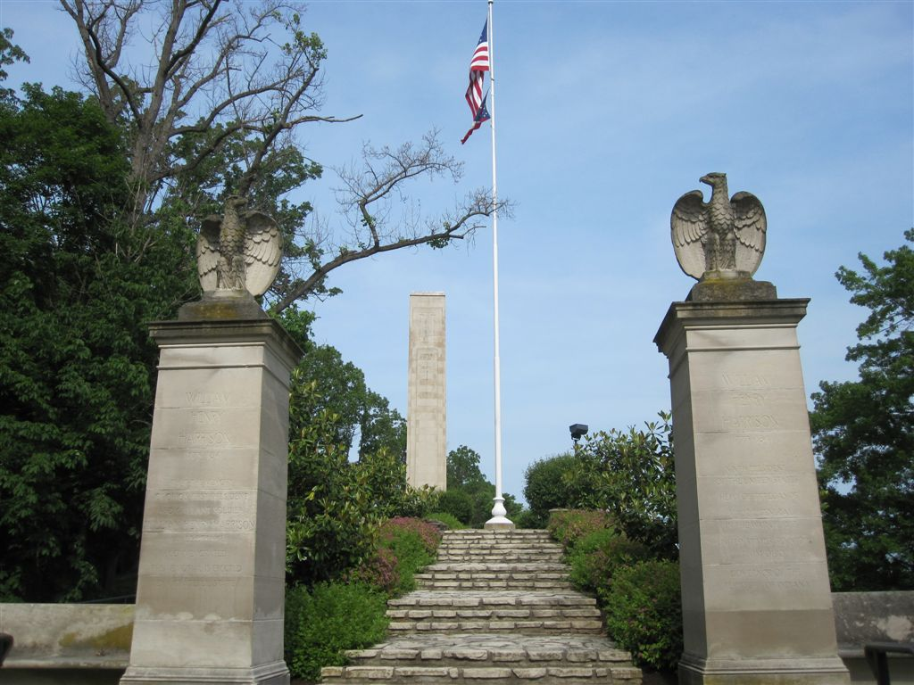 William Henry Harrison burial location