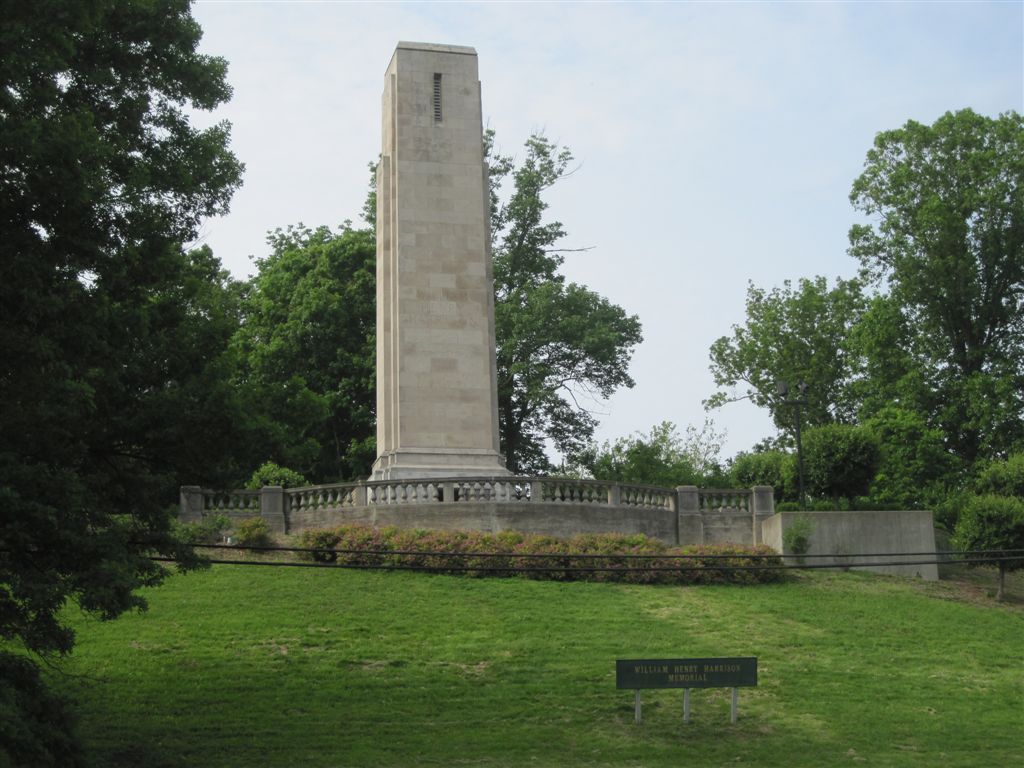 William Henry Harrison gravesite