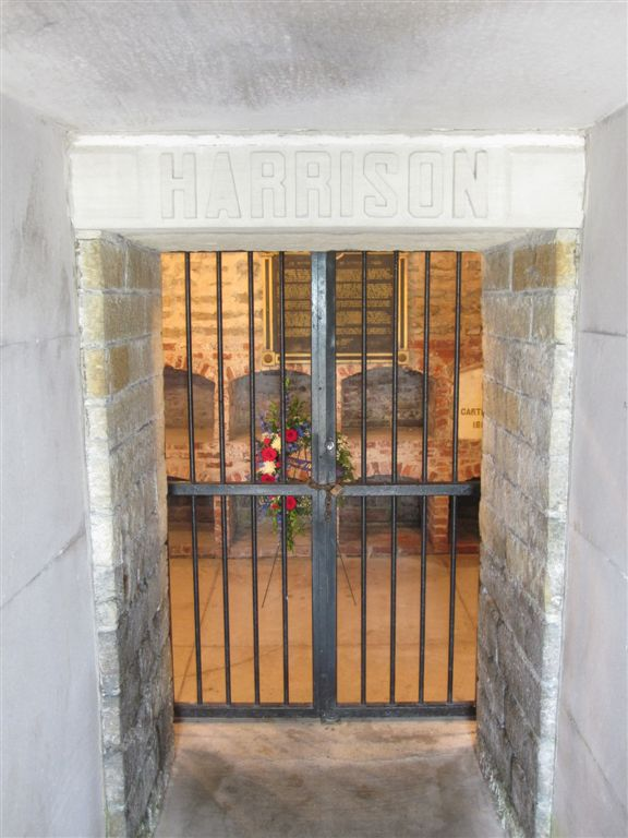 Privacy Policy >> William Henry Harrison Gravesite - North Bend, Ohio