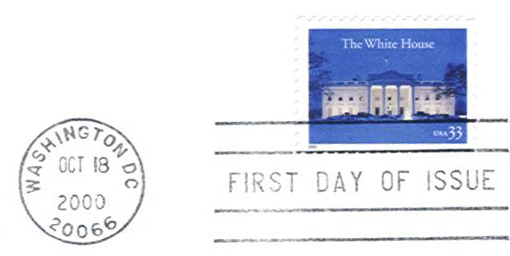 White House Stamp