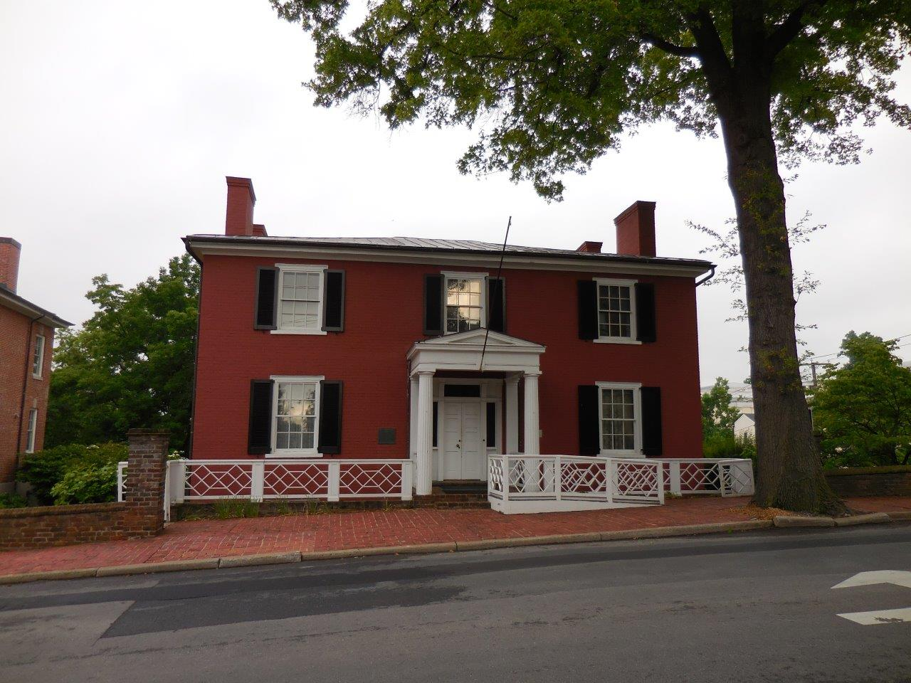 photo of Woodrow Wilson's birthplace
