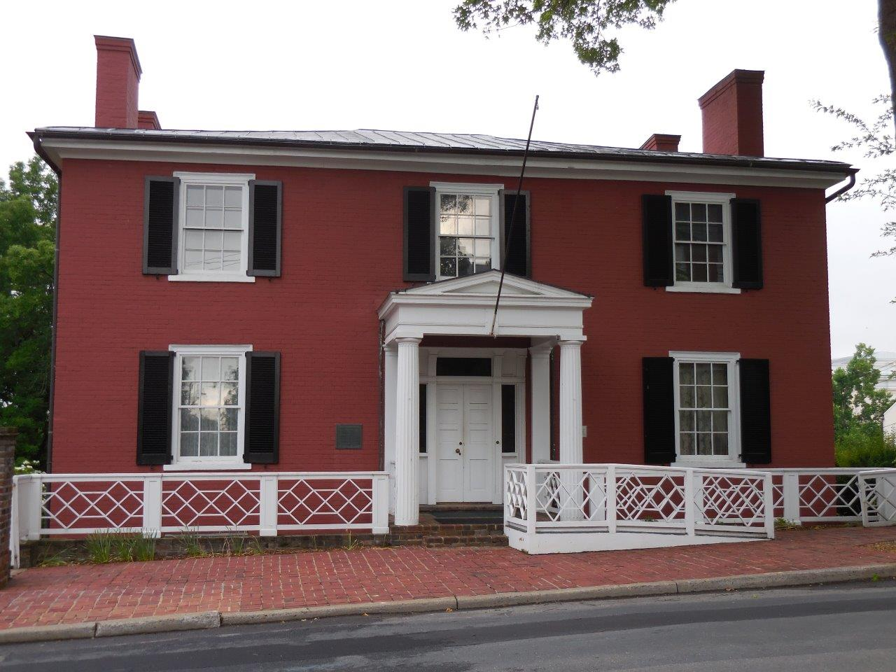 House in which Woodrow Wilson was born