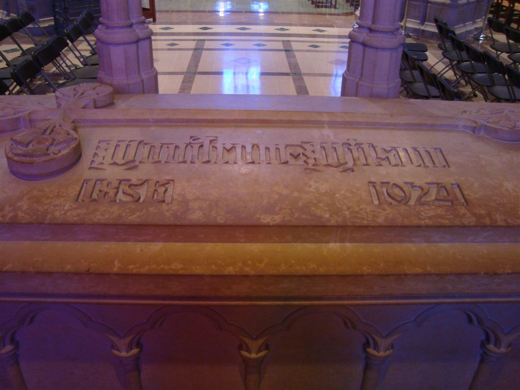 Woodrow Wilson grave